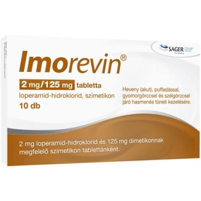 Imorevin 2mg/125mg Tabletta 10x