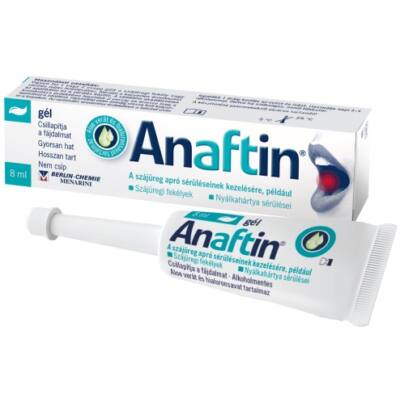 Anaftin 12% Gél 8ml